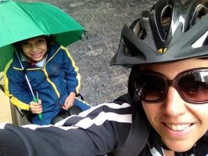 Silvia e Nina na rua - foto: Silvia Ballan