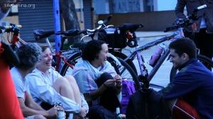 ciclistas se reunem