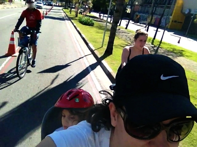 09 de julho de 2013, meu último Pedal com Igor Gabia junto com minhas duas filhas <3