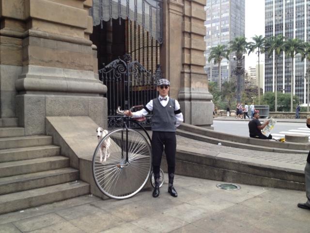 ciclista, Joaquim e aromeiazero