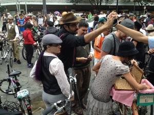 Ahhh esses ciclistas...