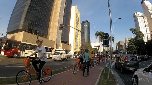 Bike Anjo e Velame na ciclovia Faria Lima