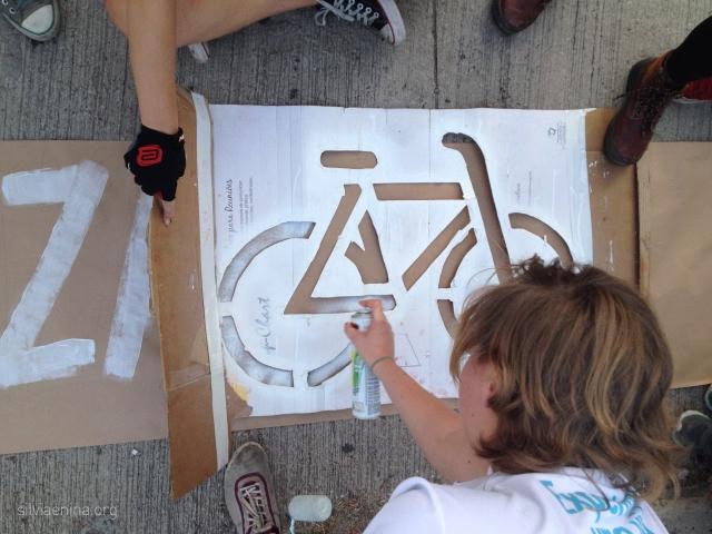Bike Anjo Mari fazendo arte :-)