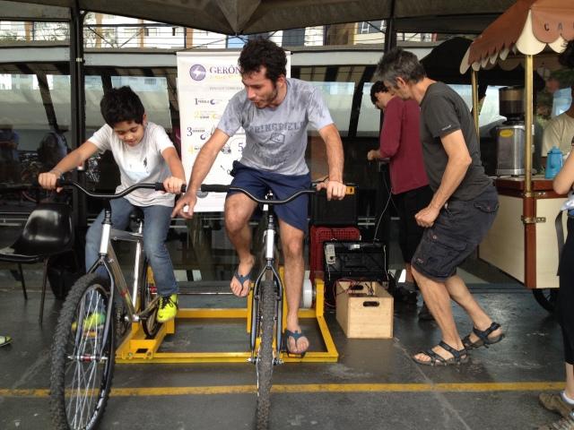 mais ciclistas na Gerônima