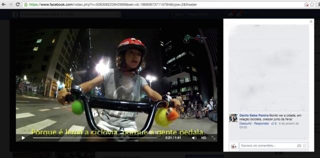 Estes comentários estão relacionados ao VIDEO postado em 05/01/2015
