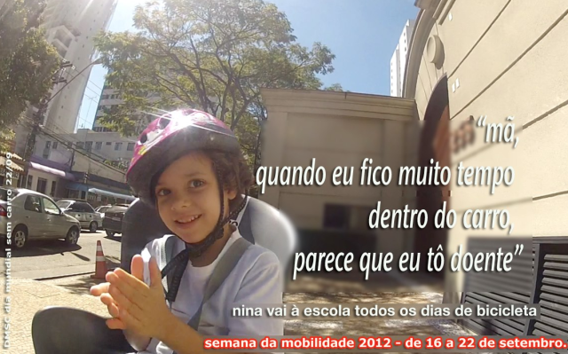 Frase de Nina em 2012
