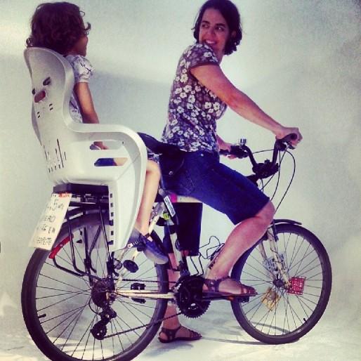 Ensaio fotográfico Kalf Bikes com Silvia e Nina (7 de abril de 2014 ) foto: