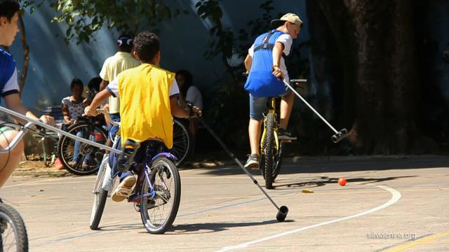 Oficina Bike Polo com SPBP