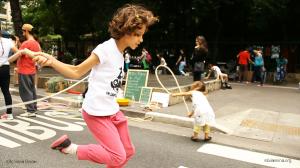 Pular Corda na rua :-)